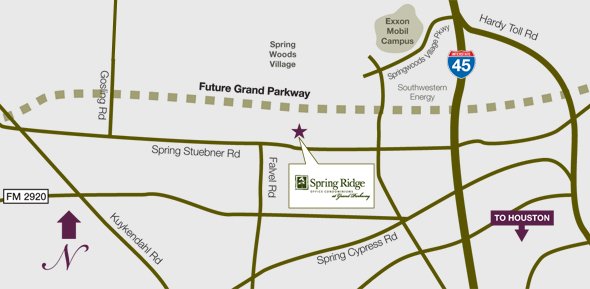 SHB-Spring-Ridge-Area-Map