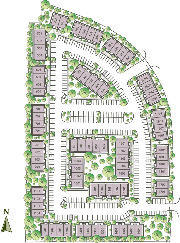 Site Plan Grogan S Ridge Office Condominiums Near The